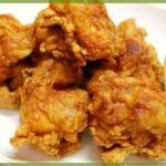 鶏肉の唐揚げの作り方「とりにくのからあげのつくりかた」