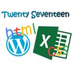 初心者でも簡単Excelの表を色付けしたままWordPressの記事に投稿する方法