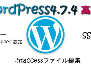 WPをXサーバーのmod_pagespeed設定とSSL化と.htaccessファイル編集で高速化した方法